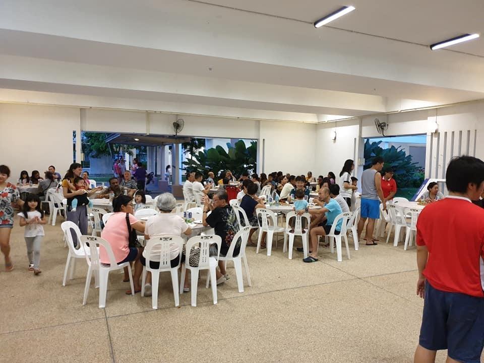 Yishun Greenwalk RC Durian Party on 30 June 19