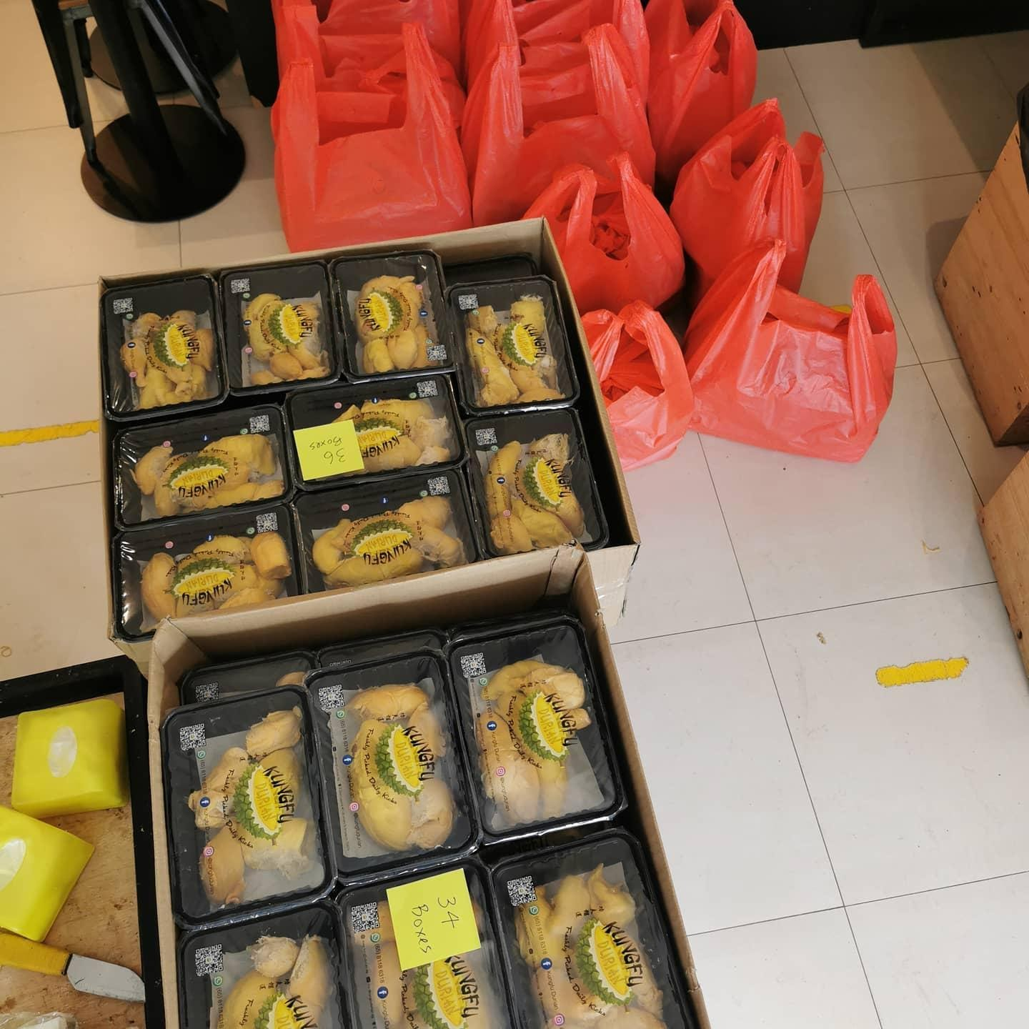 Step 4- Get the Durians Ready for Delivery and Purchase